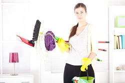 cleaning a carpet Camden